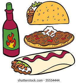 Mexican Food Items
