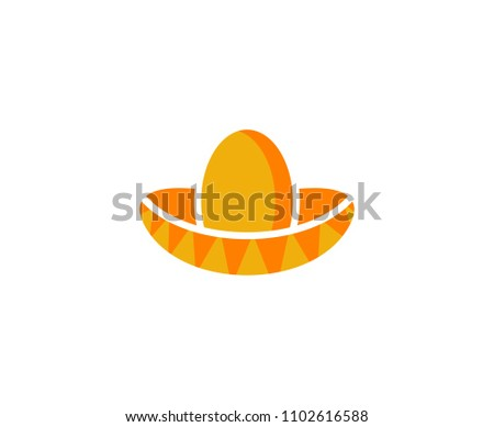 Mexican Hat Logo Stock Vector (Royalty Free) 1102616588 - Shutterstock 0850052303c