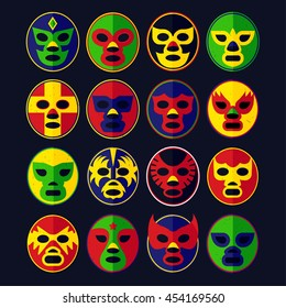 Mexican Lucha Libre Wrestling Masks