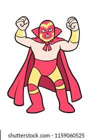Mexican Luchadore Wrestler