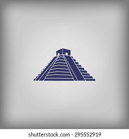 Mexican Mayan Pyramid