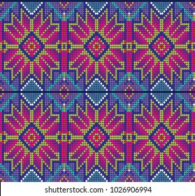 Mexican pattern - Floral design