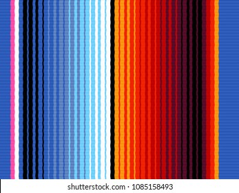 mexican serape design. colorful background pattern