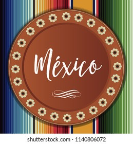 Mexican Traditional Clay Plate Composition – Copy Space