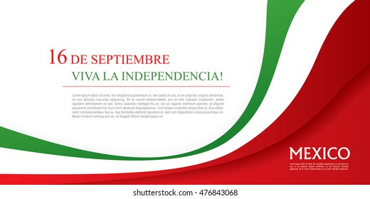 Mexican translation of the inscription: 16 th of September. Happy Independence day! Viva Mexico!