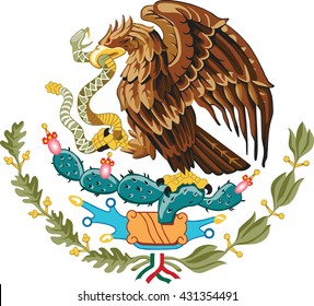 Mexico Eagle, coat of arms