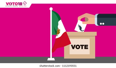 Mexico Elections 2018, elecciones Mexico 2018, spanish text