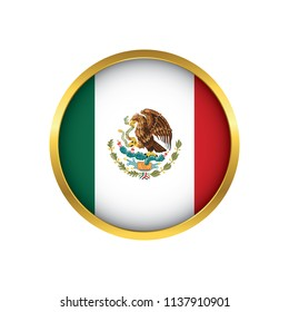 Golden Eagle Mexico Stock Vectors Images Vector Art Shutterstock