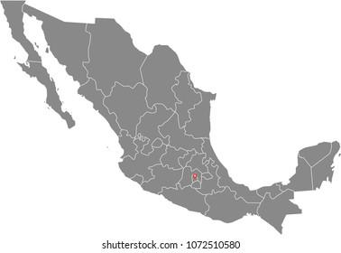 Baja Mexico Map Images, Stock Photos & Vectors   Shutterstock