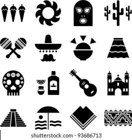 Mexico pictograms