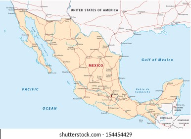 Mexico Map Images Stock Photos Vectors Shutterstock