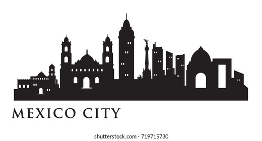 Mexico City Skyline Images, Stock Photos & Vectors