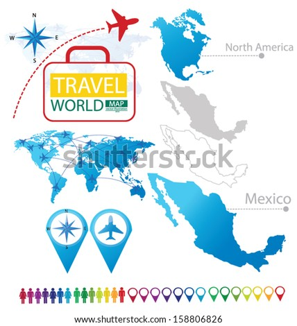 Mexico United Mexican States North America Stock Vector (Royalty ...
