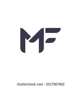 mf icon logo vector
