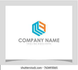 MF initial logo design