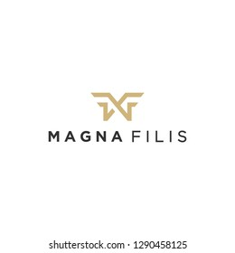 MF monogram logo