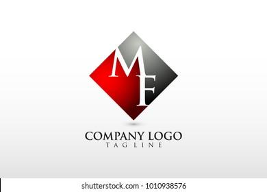 mf/fm company logo vector