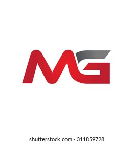 MG company group linked letter logo