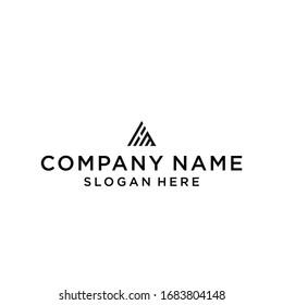 mh home logo icon design vector