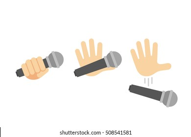 Microphone Emoji Stock Vectors, Images & Vector Art