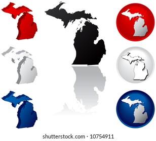 Michigan Icons