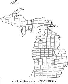 Michigan Map