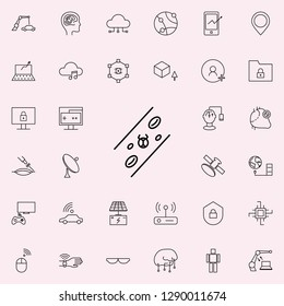 microbial test icon. New Technologies icons universal set for web and mobile