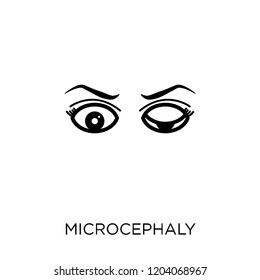 Microcephaly icon. Microcephaly symbol design from Diseases collection. Simple element vector illustration on white background.