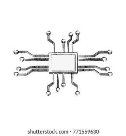 Microchip technology symbol
