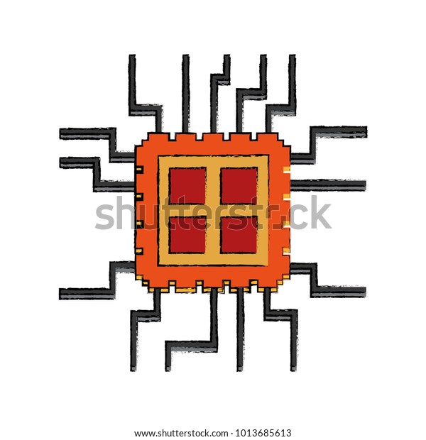 Microchip Technology Symbol Stock Vector (Royalty Free
