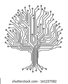 Microchip tree