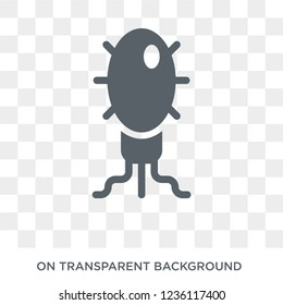 Microorganism icon. Microorganism design concept from Science collection. Simple element vector illustration on transparent background.