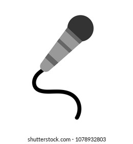 Microphone icon, communication icon, audio record mic