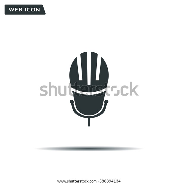 Microphone Icon- Vector