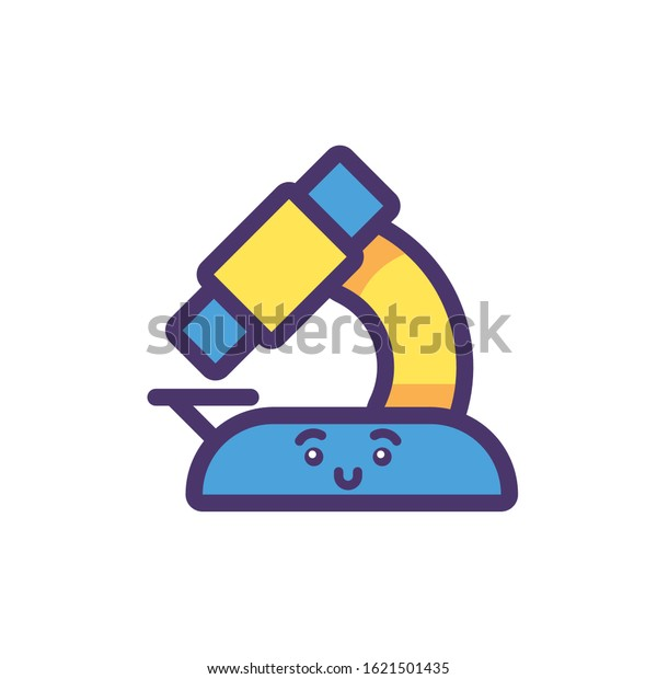 microscope cartoon design kawaii school expression stock vector royalty free 1621501435 https www shutterstock com image vector microscope cartoon design kawaii school expression 1621501435