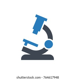 Microscope Research Icon