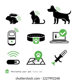 Microship your pet icons set
