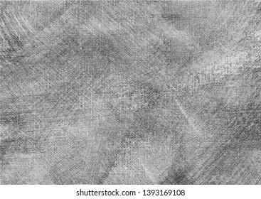 A mid gray scale vector tracing of a canvas wash painting. Ideal for creating artistic canvas texture effects.