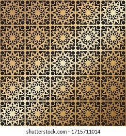 middle East geometric patterns, Endless repeating linear texture for wallpaper, packaging, banners, invitations, business cards, fabric print