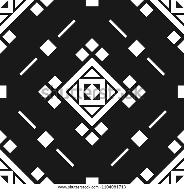 Middle East Geometry Art Style Seamless Pattern Vector