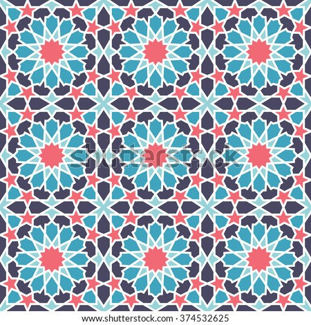 Middle Eastern Style Pattern Editable Vector Stock Vector Royalty Amazing Middle Eastern Patterns