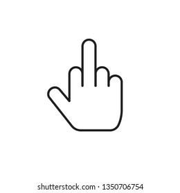 Middle Finger Emoji Images, Stock Photos & Vectors