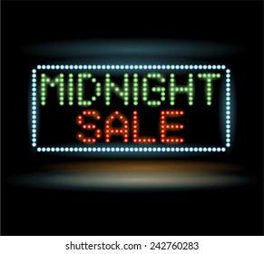 Midnight sale led light