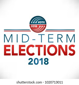 Midterm Election header banner with Vote