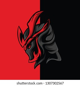 Mighty Knight : Logo E-Sport Gaming