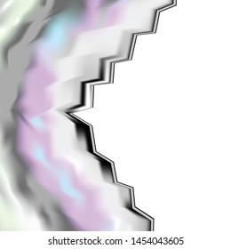 Migraine Headache Aura Visual Disturbance Illustration