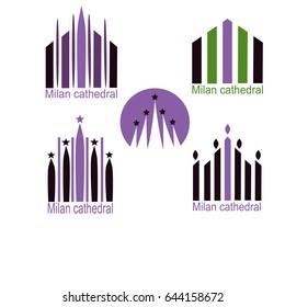 Milanio cathedral  logo