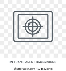 Militar Insignia icon. Militar Insignia design concept from Army collection. Simple element vector illustration on transparent background.