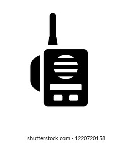 Militar Radio icon. Trendy Militar Radio logo concept on white background from army and war collection. Suitable for use on web apps, mobile apps and print media.