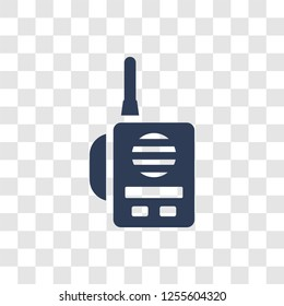 Militar Radio icon. Trendy Militar Radio logo concept on transparent background from army and war collection